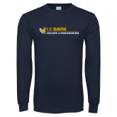 Navy Long Sleeve T Shirt-College of Engineering