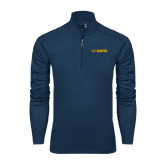 Syntrel Navy Interlock 1/4 Zip-UC DAVIS