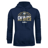 Navy Fleece Hood-Big West Mens Basketball Tournament Champions