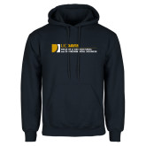 Navy Fleece Hoodie-College of Agricultural and Environmental Sciences