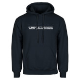 Navy Fleece Hoodie-Betty Irene Moore School of Nursing