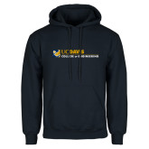 Navy Fleece Hoodie-College of Engineering