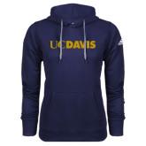 Adidas Climawarm Navy Team Issue Hoodie-UC DAVIS