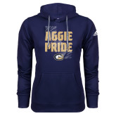 Adidas Climawarm Navy Team Issue Hoodie-Adidas Aggie Pride