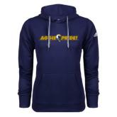 Adidas Climawarm Navy Team Issue Hoodie-Aggie Pride