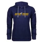 Adidas Climawarm Navy Team Issue Hoodie-Aggie Pride w/ Tagline