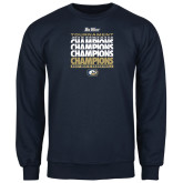 Navy Fleece Crew-Big West Mens Basketball Tournament Champions