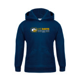 Youth Navy Fleece Hoodie-UCD Season Ticket Holder