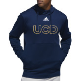 Adidas Navy Team Issue Hoodie-UCD Mark