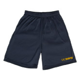 Performance Classic Navy 9 Inch Short-UC DAVIS
