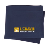 Navy Sweatshirt Blanket-School of Law