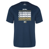 Syntrel Performance Navy Tee-Big West Mens Basketball Tournament Champions