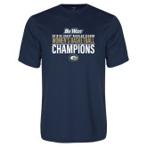 Performance Navy Tee-2018 Regular Season Womens Basketball Champions
