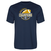 Performance Navy Tee-2018 Big Sky Conference Champions