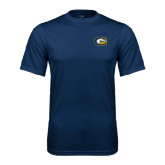 Performance Navy Tee-Official Logo