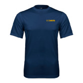 Performance Navy Tee-UC DAVIS