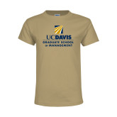 Youth Khaki Gold T Shirt-Graduate School of Management Stacked