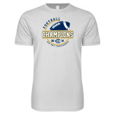 Next Level SoftStyle White T Shirt-2018 Big Sky Conference Champions
