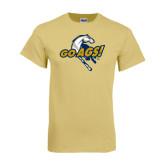 Champion Vegas Gold T Shirt-Go Ags Logo