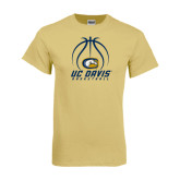 Champion Vegas Gold T Shirt-Basketball Stacked