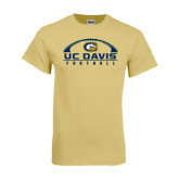 Champion Vegas Gold T Shirt-Football Horizontal