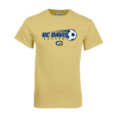 Champion Vegas Gold T Shirt-Soccerball with Flying Ball