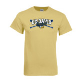 Champion Vegas Gold T Shirt-Baseball Crossed Bats