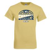 Champion Vegas Gold T Shirt-Big West Conference 2017 Regular Season Womens Basketball Champs