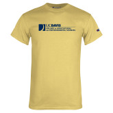 Champion Vegas Gold T Shirt-College of Agricultural and Environmental Sciences