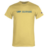 Champion Vegas Gold T Shirt-Betty Irene Moore School of Nursing