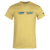 Champion Vegas Gold T Shirt-UC Davis Childrens Hospital