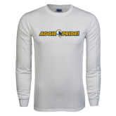 White Long Sleeve T Shirt-Aggie Pride
