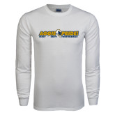White Long Sleeve T Shirt-Aggie Pride w/ Tagline