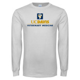 White Long Sleeve T Shirt-Veterinary Medicine