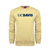Champion Vegas Gold Fleece Crew-UC DAVIS