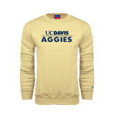 Champion Vegas Gold Fleece Crew-UC DAVIS Aggies