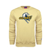 Champion Vegas Gold Fleece Crew-Go Ags Logo