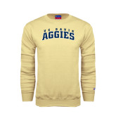 Champion Vegas Gold Fleece Crew-Arched UC Davis Aggies