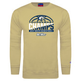 Champion Vegas Gold Fleece Crew-Big West Mens Basketball Tournament Champions