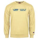 Champion Vegas Gold Fleece Crew-School of Medicine