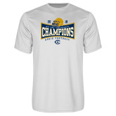 Performance White Tee-2018 Football Conference Champions