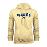 Champion Vegas Gold Fleece Hoodie-Soccerball with Flying Ball