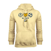 Champion Vegas Gold Fleece Hoodie-Soccerball Just Kick It