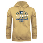 Champion Vegas Gold Fleece Hood-Big West Mens Basketball Tournament Champions