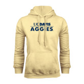 Champion Vegas Gold Fleece Hoodie-UC DAVIS Aggies