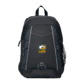 Impulse Black Backpack-Primary Mark