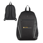 Atlas Black Computer Backpack-College of Biological Sciences