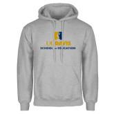 Grey Fleece Hoodie-School of Education