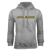 Grey Fleece Hoodie-Aggie Pride