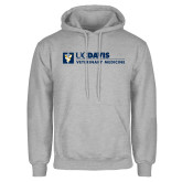Grey Fleece Hoodie-Veterinary Medicine